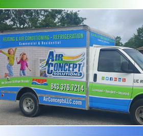 AC Repair & Service Truck