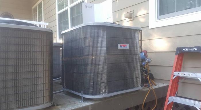 Residential HVAC Split Unit