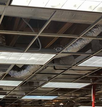 Fixing AC Sweating for Commercial Ductwork