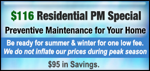 HVAC Preventive Maintenance Residential